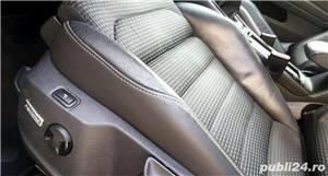 Golf 7 RAR EFECTUAT camera video, trapa panoramica electrica, piele, pornire fara cheie, clima, Led - imagine 11