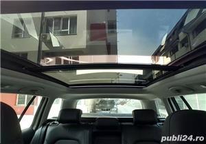 Golf 7 RAR EFECTUAT camera video, trapa panoramica electrica, piele, pornire fara cheie, clima, Led - imagine 12