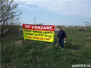 Teren 10.750 mp cu front la drum european si curent trifazic in dreptul localitatii Padureni  - imagine 2