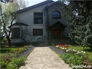 Vila superba langa padure in Corbeanca curte 3200mp - imagine 7