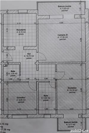 Apartament 3 camere - imagine 1