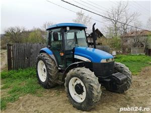 Vand tractor New Holland TD 95 PLUS, 4X4, an 2007, 95CP, 3400 ore - imagine 1