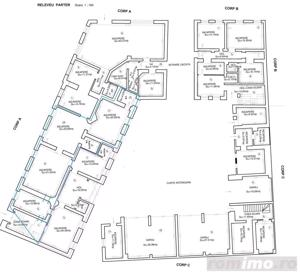Odobescu-Maternitate,  spatii comerciale/birouri cu suprafete intre 44-200 mp - imagine 2