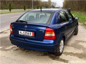 Opel Astra G 1.6i euro 4 120000km cu carte service - imagine 4