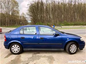 Opel Astra G 1.6i euro 4 120000km cu carte service - imagine 5