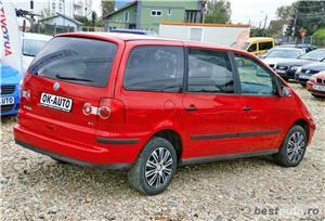 VW SHARAN Facelift - 7 LOCURI - 1.9 TDI vanzare in RATE FIXE cu avans 0%. - imagine 6
