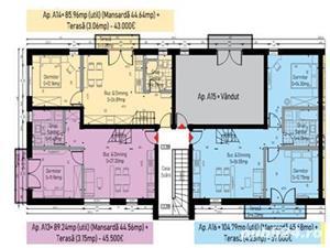 Apartamente 3 camere de vanzare Calea Cisnadiei - imagine 1