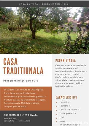 Casa la tara Borsa-Catun (Cluj) la 20min de oras, 5min Tetarom (Bosh, DeLonghi,..) - imagine 2
