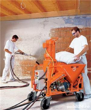Angajăm muncitori pentru tencuit, glet și lavabilă mecanizate - imagine 1