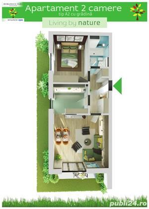 Apartament 2 camere cu gradina - Romanescu Park Residence - imagine 1