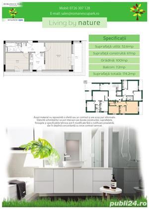 Apartament 2 camere cu gradina - Romanescu Park Residence - imagine 2
