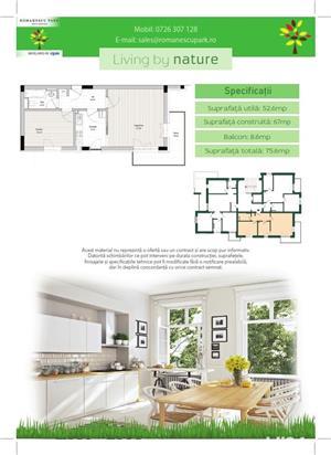 Apartamente noi 2 camere - Romanescu Park Residence - imagine 3