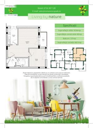 Apartament 2 camere - Romanescu Park Residence - imagine 3