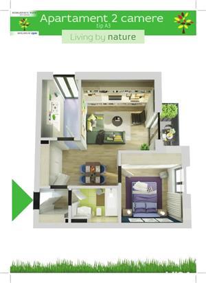 Apartament 2 camere - Romanescu Park Residence - imagine 2