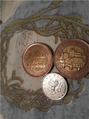 Monede coroane cehesti,euro,euro centi si alte monede.4€ - imagine 3