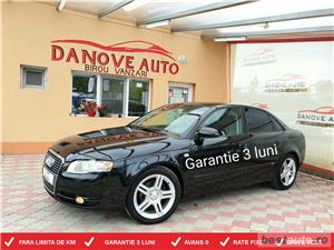Audi A4,GARANTIE 3 LUNI,AVANS 0,RATE FIXE,motor 2000 TDI,140 CP,Model S-line - imagine 1