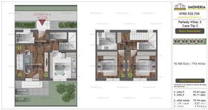 Ultima unitate disponibila !! Pallady Villas 3 sau alternativa unui apartament cu 3 camere - imagine 14