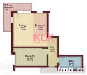 Apartament cu 2 camere de  vanzare in zona Profi Floresti - imagine 1