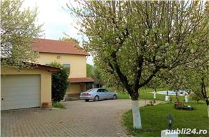 Vila de arhitect, pe malul lacului, intre doua paduri, 10 km de Bucuresti - imagine 7