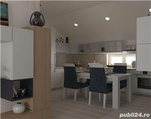 Proprietar vand ap.3 camere ,vila noua 73mp+balcon 3mp ,curte interioara verde-zona Lunei - imagine 11