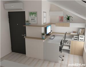 Proprietar vand ap.3 camere ,vila noua 73mp+balcon 3mp ,curte interioara verde-zona Lunei - imagine 7