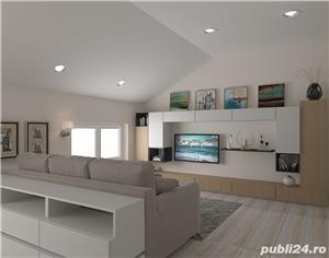 Proprietar vand ap.3 camere ,vila noua 73mp+balcon 3mp ,curte interioara verde-zona Lunei - imagine 9
