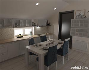 Proprietar vand ap.3 camere ,vila noua 73mp+balcon 3mp ,curte interioara verde-zona Lunei - imagine 12