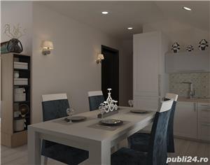 Proprietar vand ap.3 camere ,vila noua 73mp+balcon 3mp ,curte interioara verde-zona Lunei - imagine 3