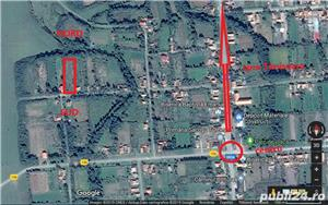 Teren intravilan central Sacosul Turcesc -  strada privata - imagine 2