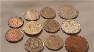 Schimb pence sterling,penny în bancnotă de £ - imagine 7