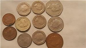 Schimb pence sterling,penny în bancnotă de £ - imagine 1