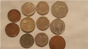 Schimb pence sterling,penny în bancnotă de £ - imagine 2
