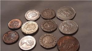 Schimb pence sterling,penny în bancnotă de £ - imagine 6