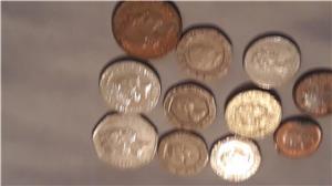 Schimb pence sterling,penny în bancnotă de £ - imagine 3