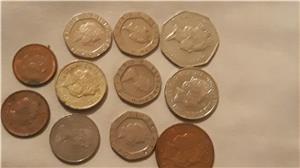 Schimb pence sterling,penny în bancnotă de £ - imagine 5
