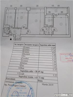 vand ap.3 camere   pta iancului et.1 bl  reabilitat   fara risc seismic  facut pentru min de interne - imagine 10