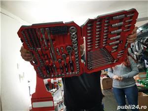 Trusa chei 216 piese import PoloniaTrusa tubulare 216 piese.Trusa 216 piese 3 clichet! NOI! Garantie - imagine 5