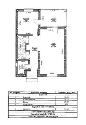 Casa nou - individuala - 120 mp - pod mansardabil -toate utilitatiile trase - Selimbar - imagine 3