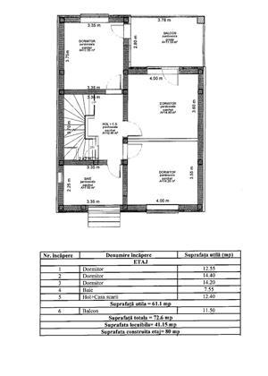 Casa nou - individuala - 120 mp - pod mansardabil -toate utilitatiile trase - Selimbar - imagine 4