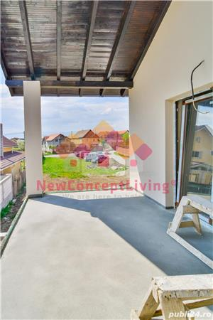 Casa nou - individuala - 120 mp - pod mansardabil -toate utilitatiile trase - Selimbar - imagine 12
