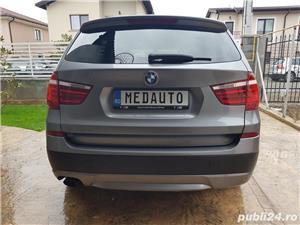 BMW X3 2.0d 184 CP xDrive Automat BiXenon FULL piele Navi LED - imagine 3