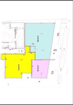 Inchiriez spatiu comercial/birouri, zona BAADER-131mp - imagine 7
