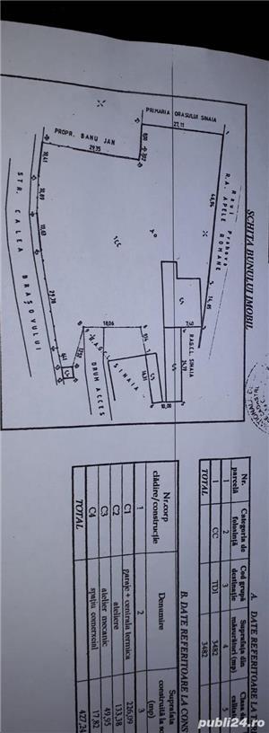 Sinaia 3482 m.p. vand/rate/chirie, negociabil!!! - imagine 1