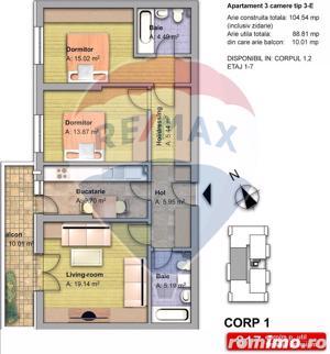 Apartament 3 camere zona Fundeni Pantelimon - imagine 15