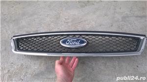 Grila radiator /capota cu sigla ford model ghia(cromat) FORD FOCUS - imagine 2