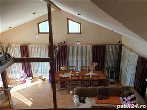 Vand vila P+M in Gepiu , 1300 teren , lux , filigorie , mobilata , sc 300 mp , termopane vitrate - imagine 3