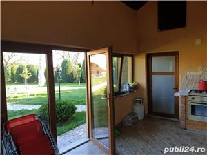 Vand vila P+M in Gepiu , 1300 teren , lux , filigorie , mobilata , sc 300 mp , termopane vitrate - imagine 8