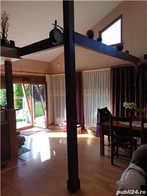 Vand vila P+M in Gepiu , 1300 teren , lux , filigorie , mobilata , sc 300 mp , termopane vitrate - imagine 7