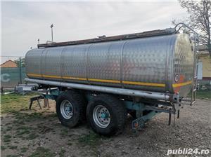 Cisterna INOX si vidanje - imagine 2