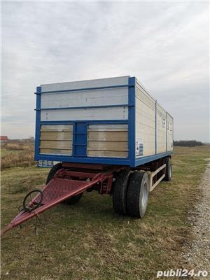 Remorcă basculabilă pentru agricole - imagine 3